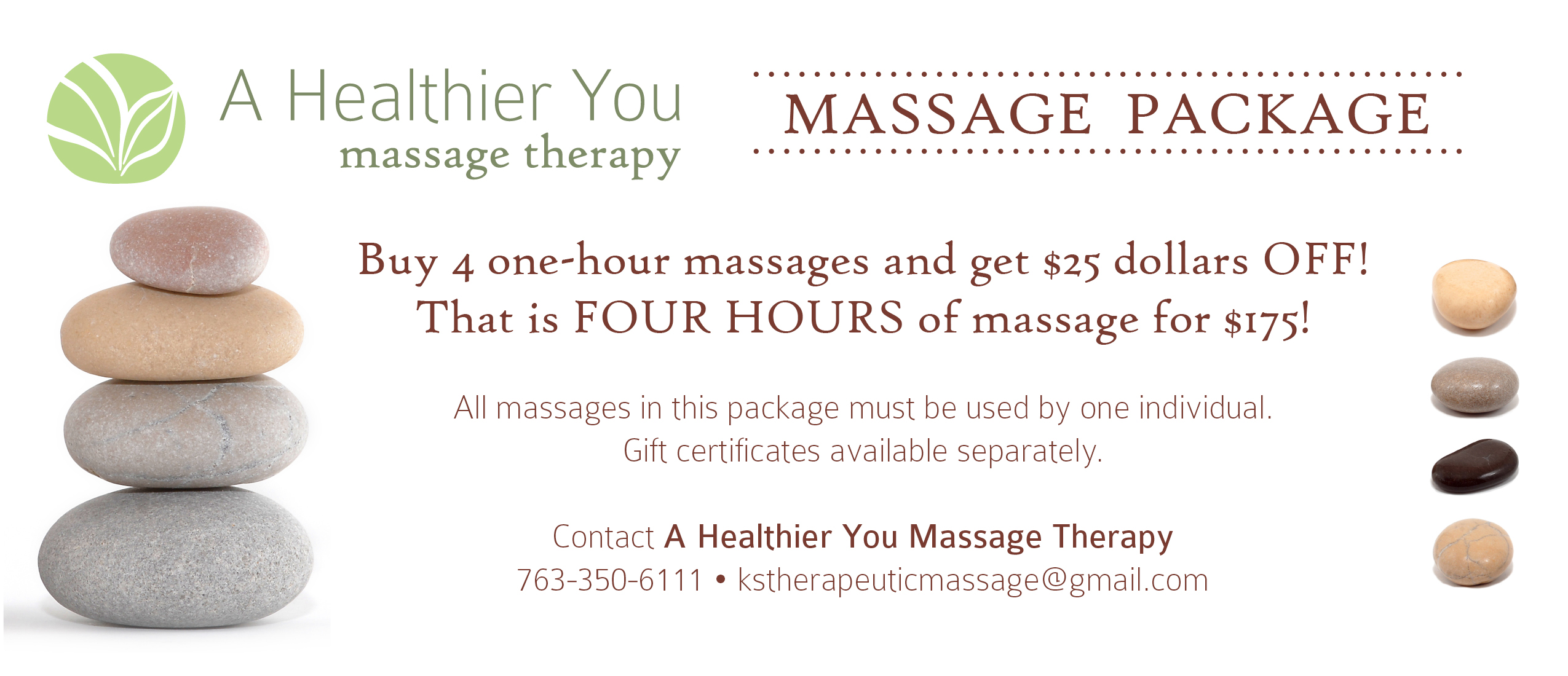 Deals massage
